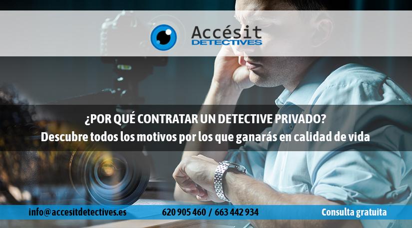 Por qué contratar un detective privado