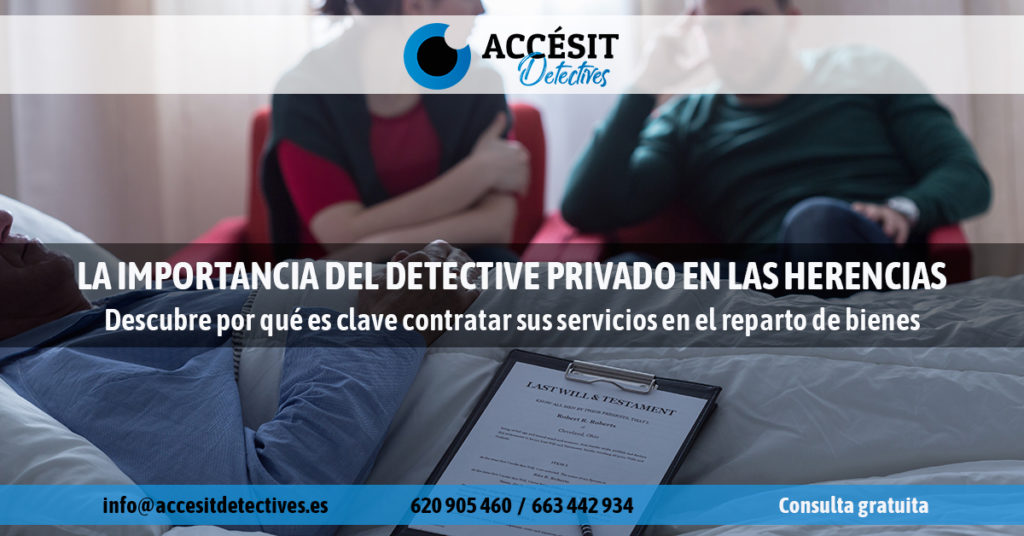 Detective privado herencias